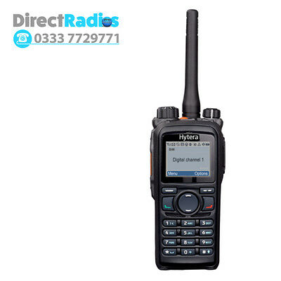 Hytera PD785 - UHF DMR 4 WATT DIGITAL RADIO WITH FULL KEYPAD
