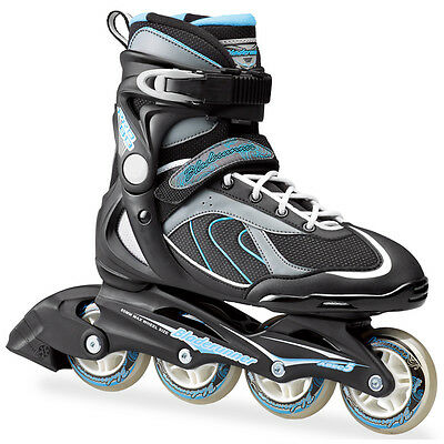 Bladerunner 2016 Pro 80 W Black/Light Blue Women's Inline Skate UK 5