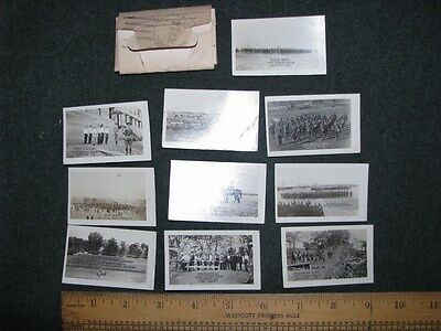 WW1 Camp Zachary Taylor - Louisville, KY small photos 1918 to Brussels, ILL
