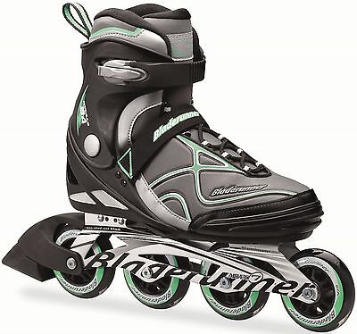 Bladerunner 2016 Formula 84 W Black/Light Green Men's Inline Skate UK 5