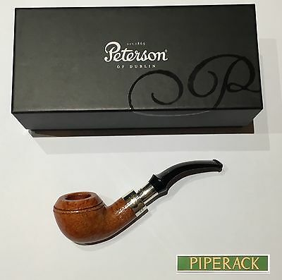NEW Peterson Natural 999 Sterling Silver Spigot Fishtail (Rare) Free Pipe Tool