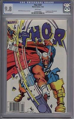 Thor #337 - CGC Graded 9.8 - 1st Beta Ray Bill