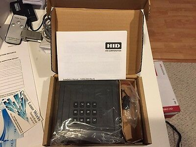 HID Prox Pro Wall Switch Card Reader with keypad