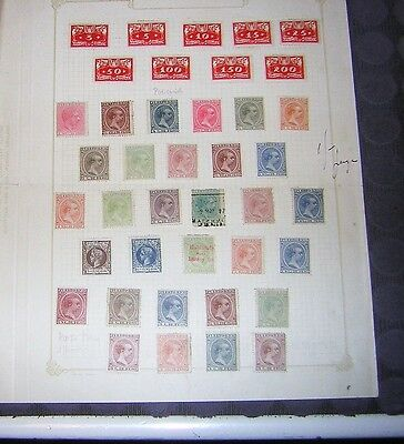 stamps puerto rico amd polish old