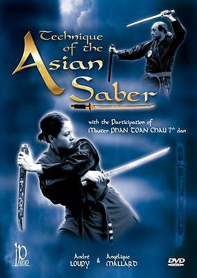 Techniques of Asian Saber Sabre weapon DVD NEW dvd174