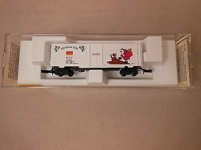 Z Gauge/scale Micro-Trains Line 1994 Holiday Christmas Car