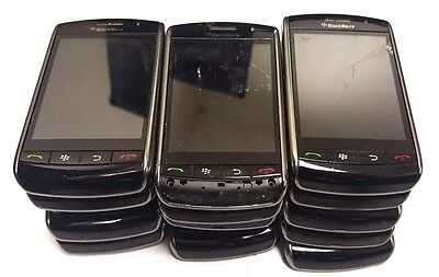15 Lot Blackberry Storm 9530 GSM For Parts Repair Used Wholesale As Is