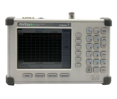 ANRITSU S331D  25 MHz - 4 GHz Cable & Antenna Analyzer