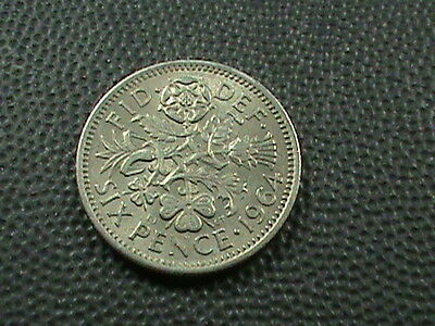 GREAT  BRITAIN    6  pence   1964