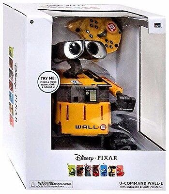 Disney Pixar U-Command Wall- E Remote Control Toy New Sealed - Free Ship!