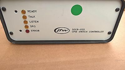 JFW 50CB-025 GPIB Switch controllerCONTROL BOX w/4 ELECTRO-MECHANICAL switches