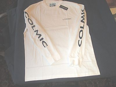 Colmic White Long Sleeved T.Shirt - Size XXL - BNWT *FREE GIFT