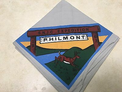 1967 Southern New Jersey Council Philmont Contingent Neckerchief