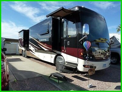 2014 Newmar Ventana 4369 3 Slide Outs, Washer/Dryer, King Bed, Diesel, Class A