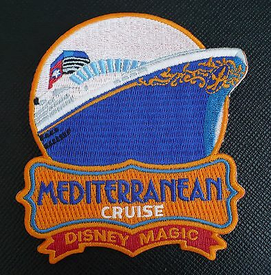 Disney Cruise Line-Dcl-Embroidered Crew Member Patch-Mediterranean