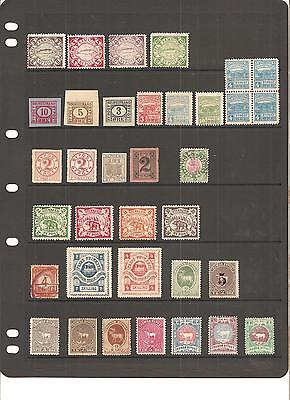 Norway local bypost stamps