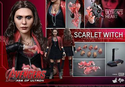 Hot Toys Avengers Age Of Ultron Scarlet Witch 1/6 Scale Mms301 Nuovo New