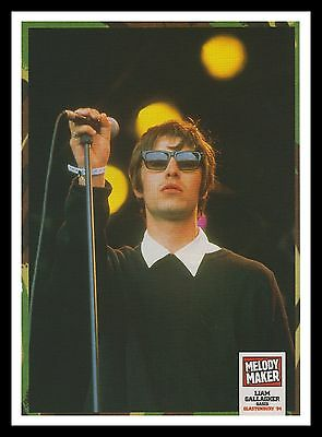 Liam Gallagher Oasis Original Framed Music Magazine Picture Poster A4