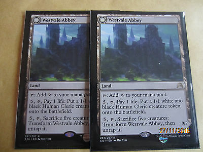 Westvale Abbey x2 - Shadows over Innistrad- Magic the gathering