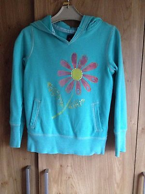 Girls Hoodie By Gap Age 6-7 Years,Vgc