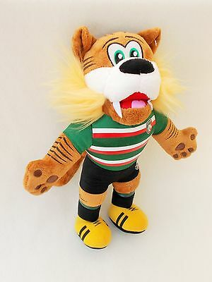 Leicester Tigers Rugby Club Mascot Tiger in Rugby Kit Soft Cuddly Toy Teddy