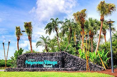 EASTER  DISNEY WORLD Polynesian Resort Vacation = 3nts = April 10th to 13th 2021