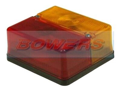 Britax 9089 P0669 Square Rear Combination Light Lamp Ifor Williams Trailer