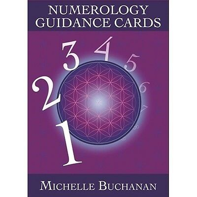 Hayhouse Numerology Guidance Cards Michelle Buchanan