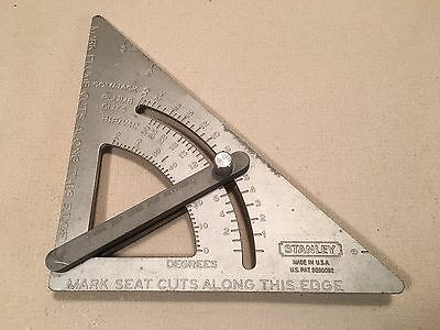 Stanley adjustable roof quick square rare, Made In USA