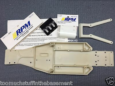 Vintage New RPM Ultra Molded Truck Chassis + Wishbone + Guard + Xtra RC10T Rare!