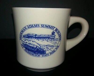 VINTAGE Souvenir Mug MT WASHINGTON NEW HAMPSHIRE