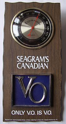 Seagrams Canadian Vintage Thermometer