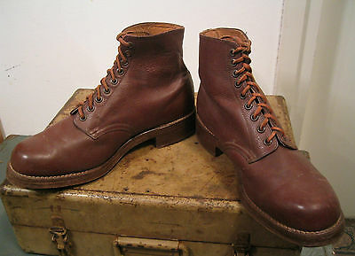 GERMAN WW2 Leather Boots Luftwaffe Great condition LW type Size 44 Paratrooper