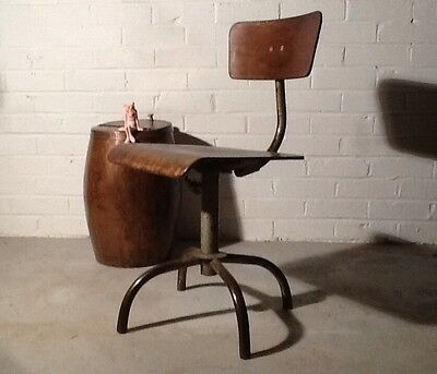 Charming 1900's Industrial Vintage French Metal Chair