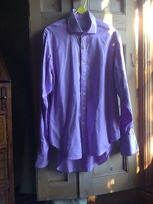 "T M Lewin Cotton ""Royal "" Shirt , Size 16.5"