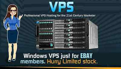 VPS Gold Pack,Windows Virtual private server 4GB RAM,200GB HDD,limited offer!!!