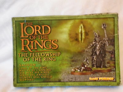 Games Workshop The Lord Of The Rings Sauron Miniature Models.