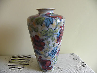 Burleigh Decorated Vase