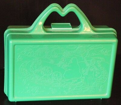 McDonald's Collectible Lunchbox- School Theme- Green 1988