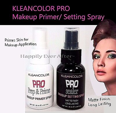 Kleancolor Makeup Primer or Setting Spray- Helps Makeup stay in place *You Pick!