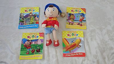 Noddy Soft Toy With 4 Books Great Used Condition
