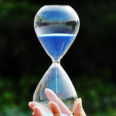 Colorful sand glass sandglass hourglass timer 5/10/30/60minutes 8 Colors  チ