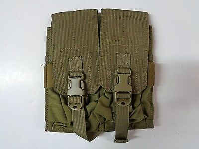 NEW Eagle Industries Double Pouch 2 Mags Per Pouch Khaki MP2-M4/2-VF-MS-5KH