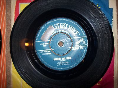 Johnny kidd +the pirates - shakin all over-yes sir thats my baby...hmv 45