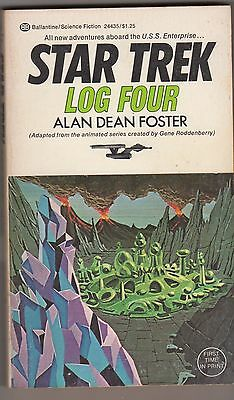 Star Trek LOG Four First Print Filmation Cover Art 1975 Paperback Animated Show