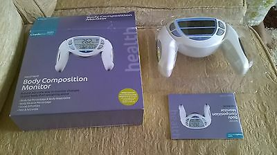 Lloyds Pharmacy Hand Held Body Composition Fat Muscle Water Monitor