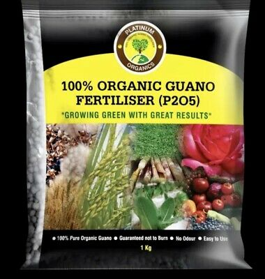1kg HIGH Phosphorus Guano Organic Fertilisers (0-8-0) Encourage Root/Flower