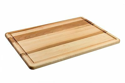 """Labell Canadian Maple Wood Cutting Board With Groove (12"""" x 18"""" x 3/4"""") L12180"""