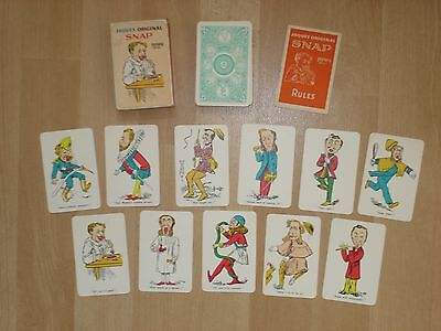 *VINTAGE* Playing Cards JAQUES' ORIGINAL SNAP.
