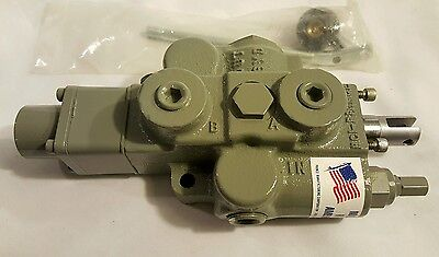 Prince Mfg Hydraulic Directional Control Valve RD512GG5A4B1 30GPM 3000PSI Max